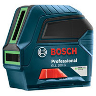 Bosch GLL 100 G Laser Cross-Line Green 100Ft