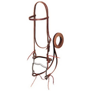 Weaver Leather 20-0350 5/8 Inch Burg LTHR Bridle