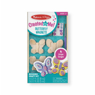 Melissa & Doug 9515 4PC Butterfly WD Magnet