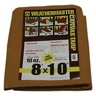 Dize CA0810D Weather Master 8 By 10 10 Ounce Canvas Tarpaulin