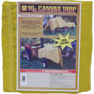 Dize CA1012D Weather Master 10 By 12 10 Ounce Canvas Tarpaulin