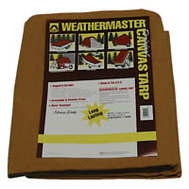 Dize CA1020D Weather Master 10 By 20 10 Ounce Canvas Tarp