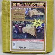 Dize CA1236D Weather Master 12 By 36 10 Ounce Canvas Tarpaulin