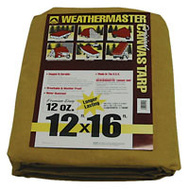 Dize CB1216D Weather Master 12 By 16 12 Ounce Canvas Tarpaulin