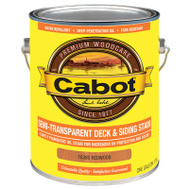 Cabot Valspar 16380 Redwood Semi Transparent Decking Stain Gallon Oil Based 5 Gallon Deck Stain