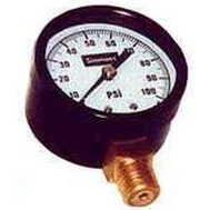 Simmons 1305 Pressure Gauge 1/4In 0- 100 Pound