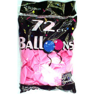 Tablemate 127210 72 Ct Hot Pink Balloon