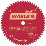 Freud D0756N Diablo 7-1/4 Inch 56 Tooth Metal Saw Blade