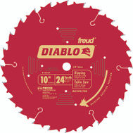 Freud D1024X Diablo 10 Inch 24 Tooth Saw Blade