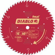 Freud D1060X Diablo 10 Inch 60 Tooth Saw Blade