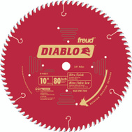 Freud D1080X Diablo 10 Inch 80 Tooth Saw Blade