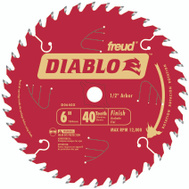 Freud D0640X Diablo 6 Inch 40 Tooth Finishing Blade