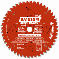 Freud D0648F Steel Demon 6-1/2 Inch 48 Tooth Saw Blade
