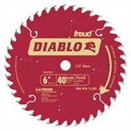 Freud D0641X Diablo 6-1/2 Inch 40 Tooth Circular Saw Finishing Blade