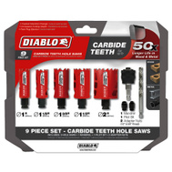 Freud DHS09SGPCT Diablo Holesaw Set Gen-Purpose 9Pc