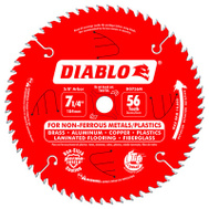 Freud D0756NA Diablo Blade Saw Cut 7-1/4Inx56t
