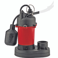 Little Giant 14942739 Red Lion 1/4 Hp Sump Pump With Tetherdfloat