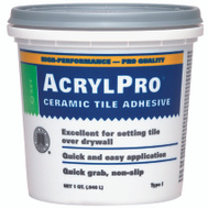 Custom Building Products ARL4000QT Acrylpro Ceramic Tile Mastic Adhesive Quart