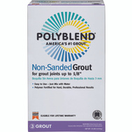 Custom Building Products PBG5210 Polyblend Grout Nonsand Tobacco Brn 10 Pound