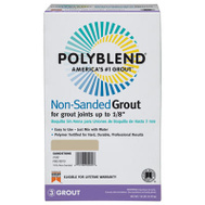 Custom Building Products PBG6010 Polyblend 10 Pound Char Nonsand Grout