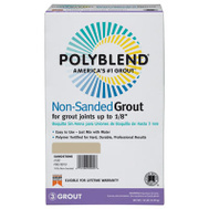 Custom Building Products PBG38110 Polyblend 10 Pound White Non Sanded Grout