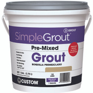 Custom Building Products PMG1221-2 Grout Premixed Linen 1Gal