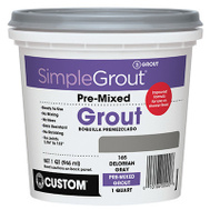 Custom Building Products PMG105QT Simple Grout Quart Earth Premixed Grout