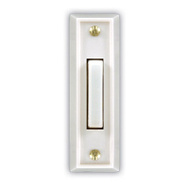 HeathCo SL-715-1-02 WHT Wired Push Button