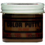 Color Putty 126 3.7 Ounce Wood Filler Brown Mahogany