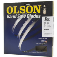 Olson Saw 55356 56-1/8 By 1/4 Inch 6 TPI Bench Top Band Saw Blade