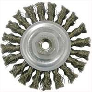 Weiler 36012 Wheel Brush 4in Knotted Crs