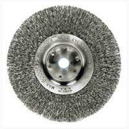 Weiler 36406 Wheel Brush 6In Crimp 5/8-1/2