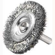 Weiler 36416 Wheel Brush 4In Crimp Fine