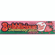 Continental Concession AMC91756 Bublicious Strawberry Gum 5Pc