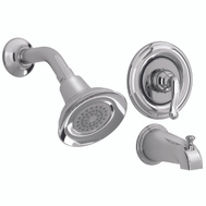 American Standard 9046502.002 Winthrop Single Handle Tub & Shower Set Chrome