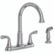American Standard 7408.400.002 CHR 2Hand Faucet/Spray
