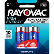 Ray O Vac 814-2K 2 Pack C Alkaline Battery