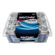 Ray O Vac 813-12PPK 12 Pack D Pro Battery