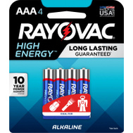 Ray O Vac 824-4K RAYO4PK AAA Alk Battery