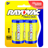 Ray O Vac 6D-2BF RAYO 2PK D HD Battery