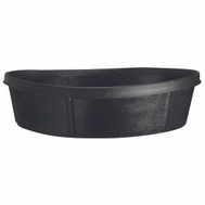 Fortex Fortiflex CR350 1/3 Bushel Reinforced Molded Rubber Pan 3 Gallons