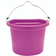 Fortex Fortiflex 1302012 Flat Back Bucket 5 Gallon Pink