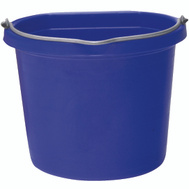 Fortex Fortiflex 1302040 Flat Back Bucket 5 Gallon Blue