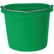 Fortex Fortiflex 1302043 Flat Back Bucket 5 Gallon Green