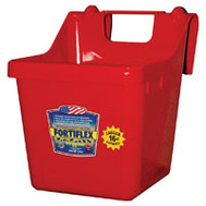 Fortex Fortiflex 1301602 Over The Fence Bucket Feeder 16 Quart Red