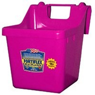 Fortex Fortiflex 1301612 Over The Fence Bucket Feeder 16 Quart Pink