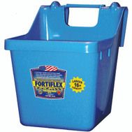 Fortex Fortiflex 1301640 Over The Fence Bucket Feeder 16 Quart Sky Blue