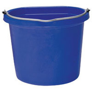 Fortex Fortiflex FB108BL 8 Quart Flat Side Bucket Blue