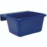Fortex Fortiflex 1306600 Over The Fence Bucket Feeder 6 Quart Blue