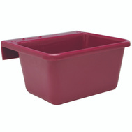 Fortex Fortiflex 1306613 Feeder Small 5Qt Burgundy